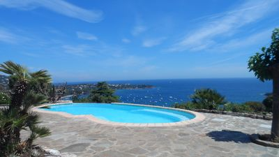 Photo for 65m2 apartment on the Estérel, heated pool on request!