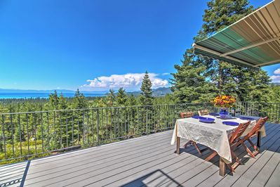 The ultimate lakeside retreat awaits in this South Lake Tahoe vacation rental house!