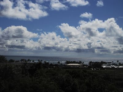 View from Studio/ Lanai to the East