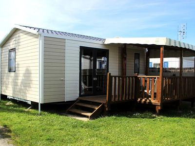 Photo for Camping La Prairie **** - Mobil Home 3 Rooms 2/4 People