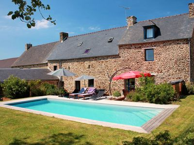 Photo for The Breton Palace - Gîte de France 4 ears - 5 bedrooms - Private pool