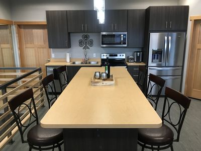 Large Island in Kitchen