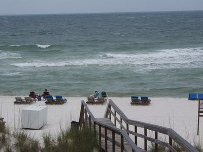 """Photo for 2nd Floor  """"Gulf Front"""" West Corner  Condo with Bunks for the Kids. Great View."""