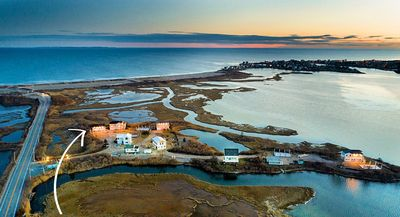 Photo for Gorgeous Views, Steps To The Beach And Ri's Best Seafood Restaurant!