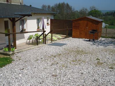 Photo for Cottage in Pennedepie between Honfleur and Deauville