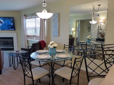 Photo for Great Ground Floor Condo!! All New Flat-Screens. Special Rate For Reviews. Pointe Royale Golf Course