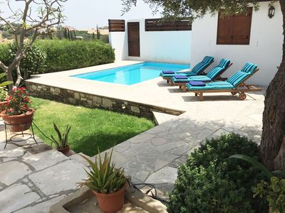 Photo for Traditional Character House in unspoilt Cyprus village sleeps 7 private pool