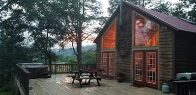 Photo for 1BR Cabin Vacation Rental in Clyde, North Carolina