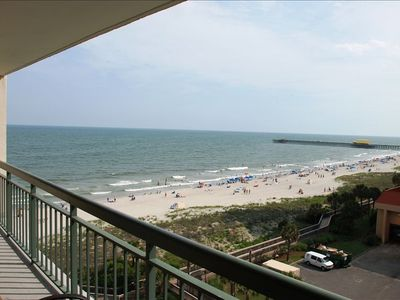 Photo for Great Ocean Views Newly Remodeled Seconds from the Beach August dates avail. $$$