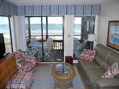 Photo for Tilghman Beach and Racquet Club Unit: 208! Oceanfront 3 Bedroom Condo. Book now for best rates!
