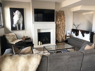 Photo for Luxurious Park City Townhouse steps away from skiing!