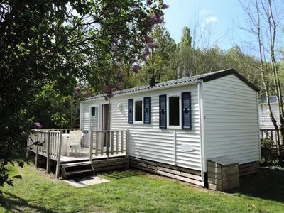 Photo for Campsite Le Bois Fleuri *** - Mobil Home 3 Rooms 4 People