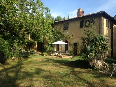 Photo for San Mario - secluded relaxation in a Tuscan stone house with excellent Wifi