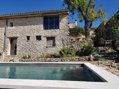 Photo for Artist's house with heated pool in the heart of Luberon and lavender