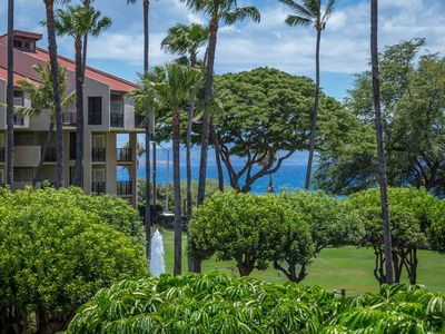 Photo for KAMAOLE SANDS-GORGEOUS OCEAN VIEWS-LARGE LANAI-AC-WELL EQUIPPED