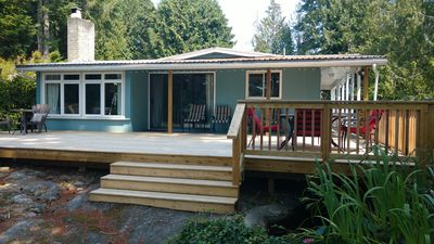 Photo for The Shores Waterside Cottage - Madeira Park. Pender Harbour