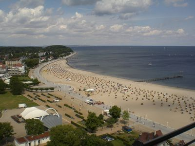 Photo for Top 2-Zi. Apartment, 14 floor, right on the beach with beautiful Baltic Sea views