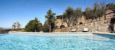 Photo for Villa Arnica A: A characteristic and welcoming ancient tuscan country house surrounded by vineyards and olive groves, with Free WI-FI.