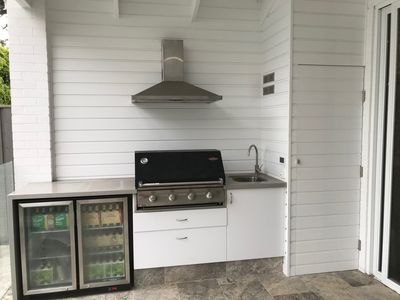 Photo for 4 Bedroom newly renovated 1920s home with pool (near Manly)