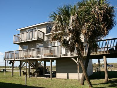 Photo for Beach-Side Home w/ Amazing Views - Steps to the Sand!