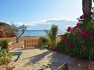 Photo for HOUSE ON THE BACONÉ BEACH IN L'AMPOLLA