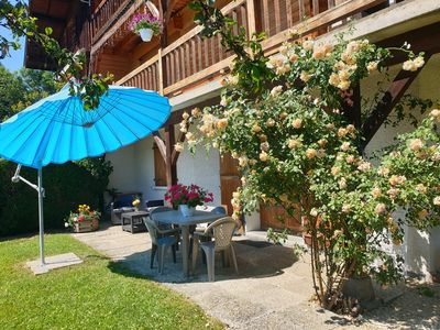 Photo for T2 apartment Le Rosier between La CLusaz and Grand Bornand