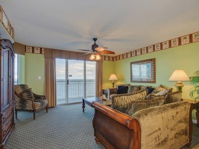 Photo for Luxury DIRECT oceanfront condo, great location & amenities
