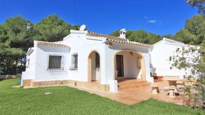 Photo for Javea- family villa with private pool near beaches