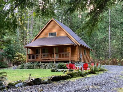 Secluded Mt. Baker Get-Away - 2 Bed - 2 Bath - 2 Fun Train Car Style Bunks!