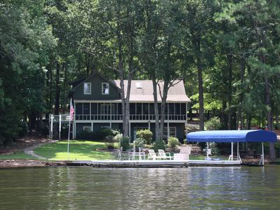 Photo for Casual Lake Life Year-Round - Idle Hours on Lake Oconee