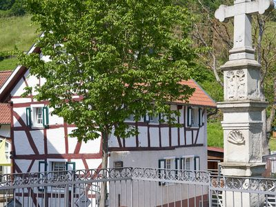 Photo for Ahrtal holiday house Landskrone - charming half-timbered house on the red wine trail
