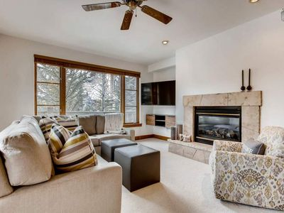 Photo for Luxury Condo in Gated Community, Walk to Ski Lift: Pinecone Chalet