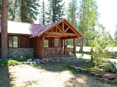 Photo for Antler's Cabin at Vallecito Lake, 2 bed., 1 bath