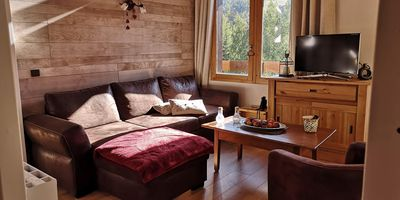 Photo for Charming duplex overlooking the Valmorel area - Departure Return ski-in ski-out