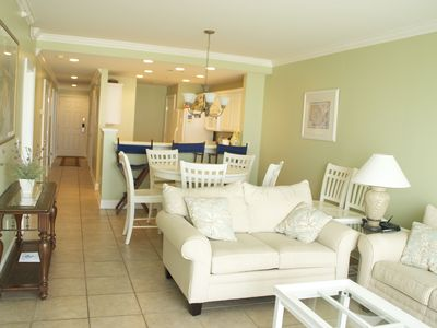 Photo for Luxury Beachfront Condo with Pools, WiFi, and more!!