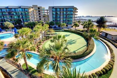 Longest lazy river in Orange Beach, putting course, and more