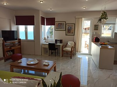Photo for EXPERIENCE & ENJOY SEA VIEW & SOUND OF THE  WAVES (MAISONETTE DIMI)