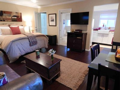 Photo for Quiet Chic Studio Apartment In Valley Village, Close To Universal Studios