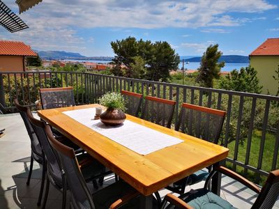 Photo for Sea view apartment Spartium Kastela