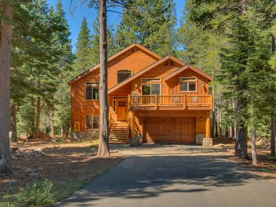 Photo for Ski View - Stunning Tahoe Donner 4 BR w/ Hot Tub - HOA Pool & Gym