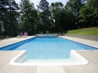 Photo for Paddys Pool Place! Close to Clemson football, Lakes and Mountains!