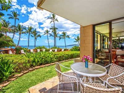 Photo for KR101-South Maui Beachfront Condo With Dramatic Ocean Views—Just Steps to Pool and Beach