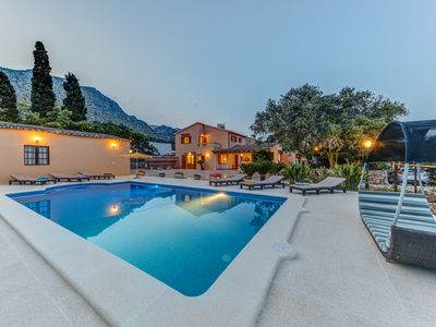 Photo for Villa with pool recently renovated in Pollensa, free WiFi