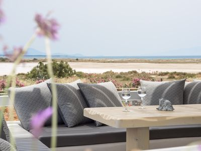 Photo for Depis Sea Side Superior villa with sea view/Naxos