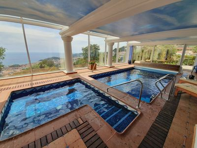 Photo for Vila Panorama, amazing vila with spa and indoor pool