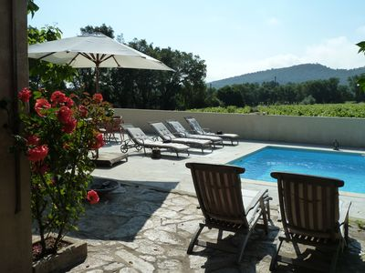 "Photo for Gulf of St Tropez: ""Lou Migranier"" Property with pool in quiet vineyards"