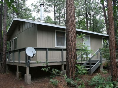 Photo for Top reviews!  Weekend, weekly & monthly cabin! very clean!! Low price