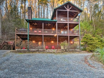 Photo for 2BR Cabin Vacation Rental in Ellijay, Georgia