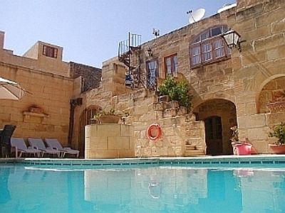 Photo for 300 year old Converted Farmhouse with Private Pool