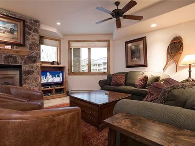 Photo for CX331 by Mountain Resorts: Beautiful decor ~ Amazing location ~ Perfect location by Base area